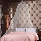 Mosquito Net Home Bed Canopy Indoors or Outdoors Round Hoop Bed Netting F image