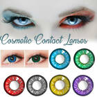 Внешний вид - 1 Pair of Love Words Style Cosplay Cosmetic Lenses Beauty Eyes
