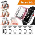 iWatch 38mm 42mm Screen Protector Case Snap On Cover for Apple Watch Series 3 2 image