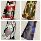 Camo Camouflage Vinyl Film Wrap DIY Waterproof Auto Motorcycle Car: 30cm x 1.52m