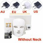 7 Colors LED Light Photon Face Neck Mask Rejuvenation Beauty Skin Care Mask
