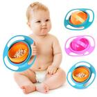 Baby Kids Infant Feeding Dishes Gyro Bowl Universal 360  Rotate Spill-Proof Bowl