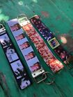 Elvis, Marylin Monroe, David Bowie, The Beatles Keychain Lanyards