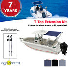Oceansouth T-Top Extension Kit, Boat Stern Shade