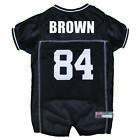 ANTONIO BROWN #84 Oakland Raiders Licensed NFLPA Dog Jersey Sizes XS-XL $27.97 USD on eBay