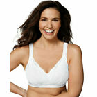 E515 Playtex 18 Hour Bra Wirefree Shoulder Comfort Tru Support White