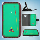 SAMSUNG GALAXY NOTE 9 FLIP CASE WALLET COVER|SNOOKER POOL TABLE 2 $9.91 USD on eBay