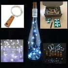BOX OF 6 LED Corks with 15 Lights on a String Bottle Stopper, Wedding, Event.