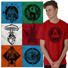 Hippie Tee Shirt Graphic T Shirt For Mens Womens Celestial Novelty TShirts Tees image
