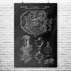 Nuclear Reactor Poster Print Engineer Gifts Power Plant Worker Science Teacher