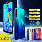 30 Pro 4GB 64GB 100 Unlocked Smart Phone Face Fingerprint Dual SIM Android 8.0