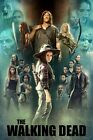 The Walking Dead Poster Season 9 Judith Daryl Carol Michonne Jesus - 11x17 13x19