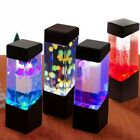 Modern 5w-led Jellyfish Lamp Night Light Aquarium Lamp Kids Room Home Decor Gift