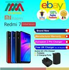 XIAOMI REDMI 7 BRAND NEW SEALED FACTORY UNLOCKED GLOBAL VERSION FAST DELIVERY  <br/> FREE UK CHARGER WITH DUAL CHARGING PORTS FOR UK BUYERS
