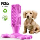Dog Toothbrush Chew Stick Cleaning Toy Silicone Pet Brushing Oral Dental Care US