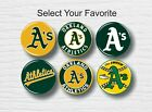 "Oakland Athletics Buttons 1.25"" MLB Team Hat Shirt Jersey Pins Badge Patch Logo on Ebay"