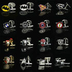1Pair Popular Mens Super Hero Movie Marvel  Cufflinks Shirt Wedding Party Gifts $4.89 USD on eBay