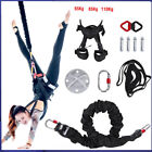 65-110kg Aerial Anti-gravity Yoga Resistance Band Set Bungee Dance Trainer