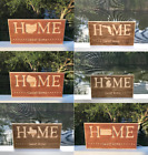 State Home Sweet Home Plaque