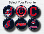 """Cleveland Indians Buttons 1.25"""" Baseball Hat T-Shirt Jersey Pins Badge Patch on Ebay"""