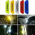 4x Car Safety Reflective Tape Sticker Door Open Warning Stickers Reflector Z9c0