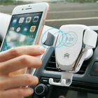 10W QI Fast car wireless mount holderStand For iphone X/XR/XS/XS Max Samsung S10