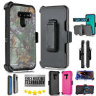 for LG G8 ThinQ Defender 4 Layer Armor Heavy Duty Tough Case + Built in Screen
