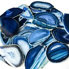 Blue Agate Slices Bulk Geode Agate Place Cards Wholesale Size 1 Placeca