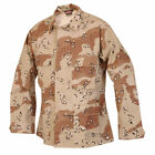 DESERT STORM TENNESSEE MANUFACTURING CHOCOLATE CHIP 6 COLOR COMBAT JACKET COAT