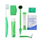 Dental Orthodontic Brush Ties Toothbrush Interdental Floss Oral Care Travel Kit