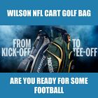 New Wilson NFL Cart Golf Bag  -  Pick Your Team $139.99 USD on eBay
