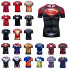 Mens Tops Superhero Avengers Marvel 3D Print T-shirt Compression Sports Gym Tee $8.99 USD on eBay