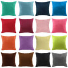 Pillow Case Office Home Bed Car Sofa Multi Color Soft Large Cushion Cover