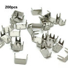 Kyпить 200x Zipper Bottom Stop Stopper Repair In 5 Finishes Sizes #3 # 5 Part Durable на еВаy.соm