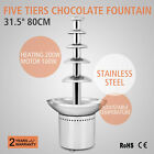 Large New 5 Tiers Stainless Party Hotel Commercial Chocolate Fountain