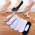 10Pairs Women Invisible No Show Nonslip Loafer Boat Liner Low Cut Cotton So J YF