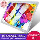 10 Inch Tablet Android 8.0 6 64GB Tablet PC with TF Card Slot and Dual Camera