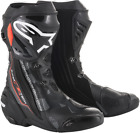 Alpinestars Supertech R Motorcycle Boot Black Gray Red SHIPS FREE