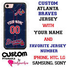 ATLANTA BRAVES BASEBALL PHONE CASE COVER NAME & # FOR iPHONE SAMSUNG LG GOOGLE on Ebay