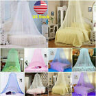 US Princess Mosquito Net Lace Dome Bed Canopy for Children Girls Fly Insect  image