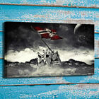 HD Canvas Print Room Art Decor Painting movies Star Wars Stormtrooper Flag 16x24