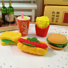 3Pcs Novelty Food Sandwich Hamburger Shaped Rubber Erasers Kids Stationerys Sets $1.0  on eBay