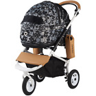 AirBuggy for Dog - Dome2 Brake Set FLOWER CAMO