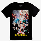 My Hero Academia SPLIT HEROES AND VILLAINS T-Shirt NEW Authentic & Official image
