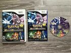 Nintendo Wii Games Complete Pick & Choose Video Games Mario Pokemon Sports