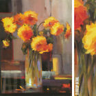 """18W""""x24H"""" FLORAL SUNRISE by JENNIE TOMAO - VASED STILL LIFE CHOICES of CANVAS"""