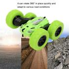 Plastic Mini 2.4G Double-sided Stunt RC Car Electric Vehicle w/Light Kid Gifts