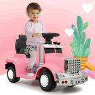 6V Kids Ride On Car With Toddler Drive-able Licensed MP3 LED Light Toy Gift