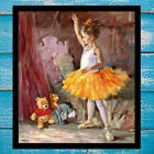 Home Wall Art PaintingMy First Audience Is Tigger  Print Canvas Decorative 16x18