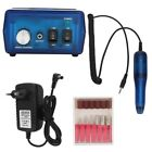 Pro Electric Nail File Drill Manicure Tool Pedicure Machine Set kit US/EU Plug